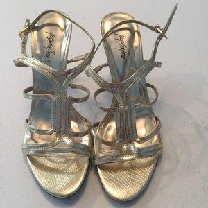 4e787670d216 ... Peep Toe Heels 8M.  29  69. Jacqueline Ferrar strappy heeled sandals
